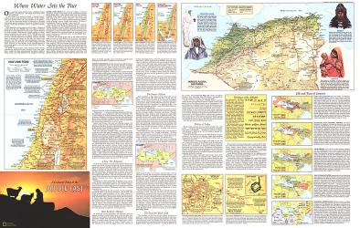 1972 Peoples of the Middle East Theme by National Geographic Maps