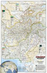 2001 Afghanistan and Pakistan by National Geographic Maps
