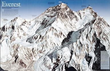 2003 Everest by National Geographic Maps