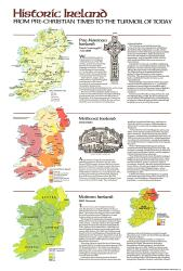 1981 Historic Ireland Theme by National Geographic Maps