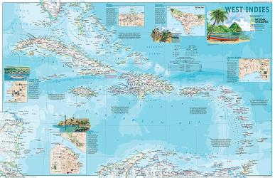 2003 West Indies by National Geographic Maps