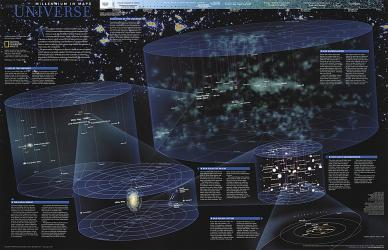 1999 The Universe by National Geographic Maps