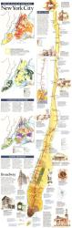 1990 New York City Map by National Geographic Maps