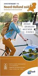 Noord-Holland Zuid : Netherlands 1:50,000 cycling map #13 by ANWB Media (Firm)