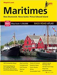 Maritimes Back Road Atlas by Canadian Cartographics Corporation