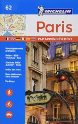 Paris par Arrondissement (62) by Michelin Maps and Guides
