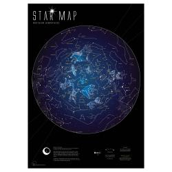 Star Chart, Glow in the Dark by Maps International Ltd.