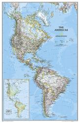Americas Classic, Sleeved by National Geographic Maps
