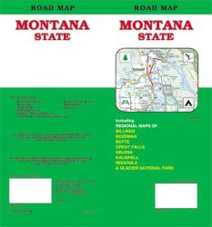 Montana, Road Map by GM Johnson