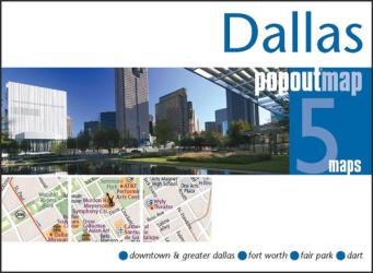 Dallas, Texas, PopOut Map by PopOut Products