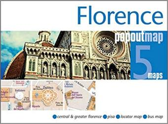 Florence, Italy, PopOut 5 Maps by PopOut Products