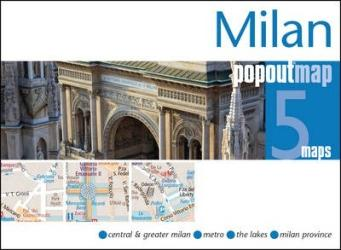Milan, Italy, PopOut Map by PopOut Products
