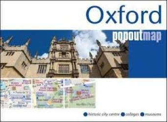 Oxford PopOut Map by PopOut Products