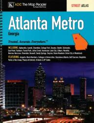 Atlanta, Georgia, Metro by Kappa Map Group