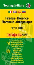 Florence, Italy Pocket Map by Touring Club Italiano