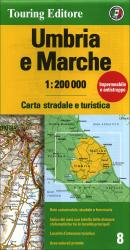 Umbria and Marche, Italy by Touring Club Italiano