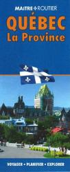 Quebec, Province Map by Route Master