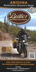 Arizona Backcountry Discovery Route by Butler Motorcycle Maps