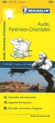 Aude, Pyrenees Orientales (344) by Michelin Maps and Guides