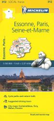 Michelin: Essone, Paris, Seine Et Marne Tourist and Road Map by Michelin Travel Partner