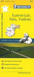 Michelin: Eure Et Loir, Paris, Yvelines, France Road and Tourist Map by Michelin Travel Partner