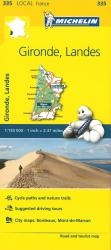 Michelin: Gironde, Landes, France Road and Tourist Map by Michelin Travel Partner