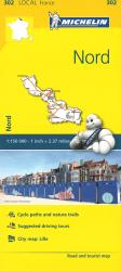 Michelin: Nord, France Road and Tourist Map by Michelin Travel Partner