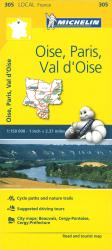 Michelin: Oise, Paris, Val d'Oise, France Road and Tourist Map by Michelin Travel Partner
