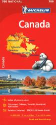 Michelin: Canada Road and Tourist Map by Michelin Maps and Guides