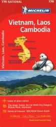 Michelin: Vietnam, Laos, and Cambodia Road and Tourist Map - by Michelin Travel Partner