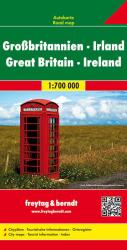 Great Britain and Ireland by Freytag, Berndt und Artaria