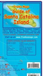 California Map, Santa Catalina Island Guide and Dive, folded, 2009 by Frankos Maps Ltd.