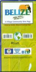 Belize Official Dive Guide by Frankos Maps Ltd.