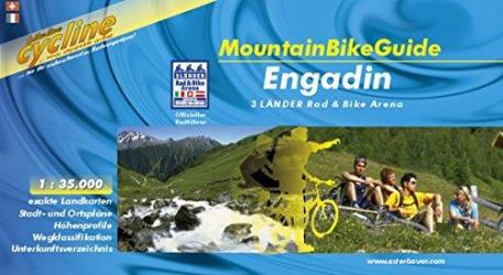 Engadin Mountain Bike Guide by Bikeline