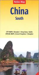 Southern China road map by Nelles Verlag GmbH