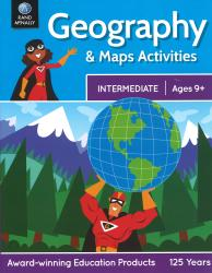 Geography and Maps Activities (Intermediate: Ages 9+) by Rand McNally