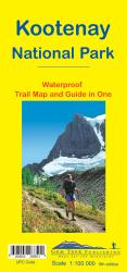 Kootenay National Park, Trail Map and Guide in One (waterproof) by Gem Trek