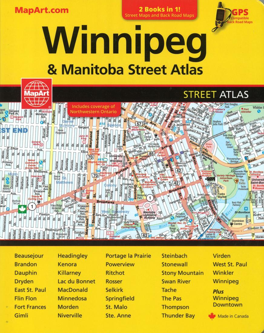winnipeg and manitoba street atlas manitoba back road atlas by mapart publishing canadian cartographics corporation