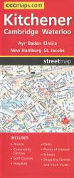 Montreal Road Map by Canadian Cartographics Corporation