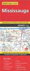 Burlington and Area Road Map by Canadian Cartographics Corporation