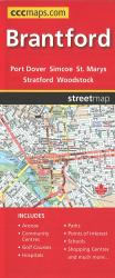 Brantford and Area Road Map by Canadian Cartographics Corporation