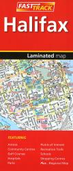 Halifax Fast Track Laminated Map by Canadian Cartographics Corporation