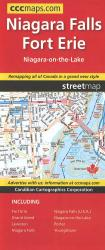 Niagara Falls and Fort Erie : Street Map by Canadian Cartographics Corporation