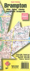 Brampton and Area Map by MapArt