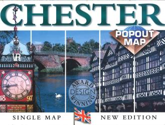 Bruges, Belgium, PopOut Map by PopOut Products