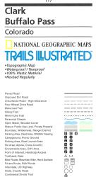 Clark Buffalo Pass Trail Map by Trails Illustrated