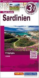 Sardinia Flash Guide by Hallwag