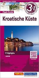 Croatian Coast Flash Guide by Hallwag