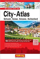 Switzerland City Atlas by Hallwag