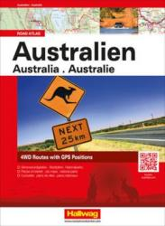 Australia Road Atlas by Hallwag
